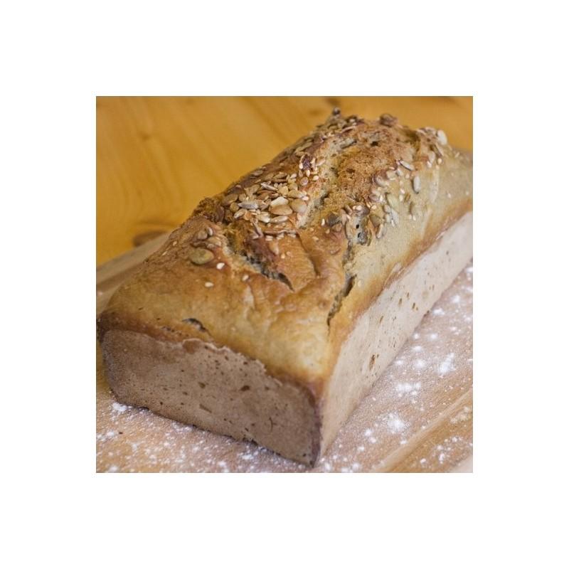 Chlebek śniadaniowy na zakwasie żytnim mieszany