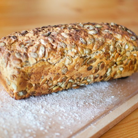 Chleb z pestkami dyni