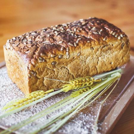 Chleb słonecznikowy 100% żytni