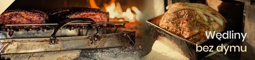 Wędliny bez Dymu Wędzarniczego Pieczone w Piecu Chlebowym