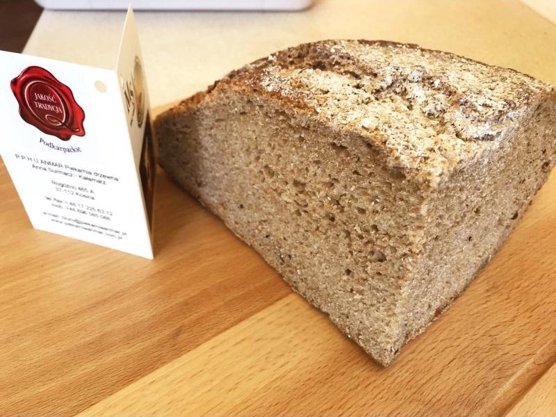 prawdziwy chleb żytni